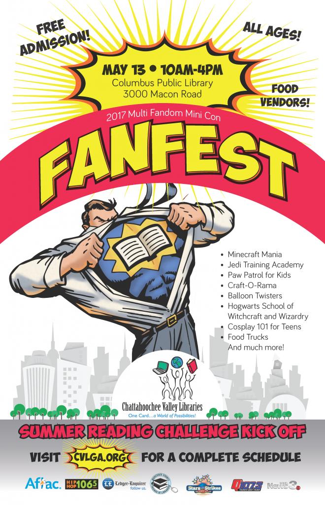 Chattahoochee Valley Library FanFest
